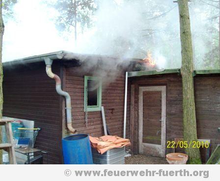 Gartenhausbrand