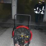 Entrauchung der Tiefgarage mit Überdrucklüfter