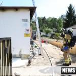 Wohnhausbrand in Fuerth