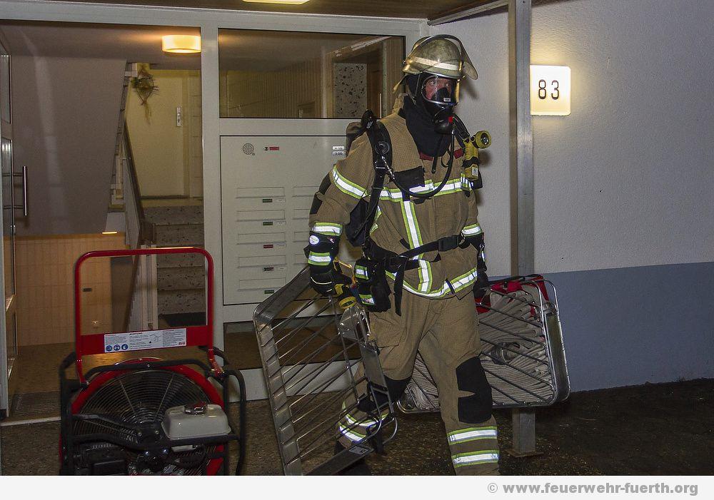 Brandeinsatz Flurstrasse