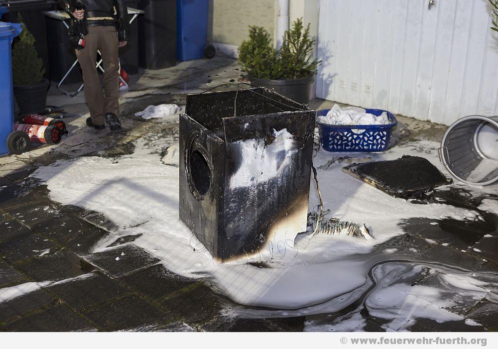 waschmaschinenbrand