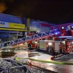 Brandeinsatz DLK Abrüsten