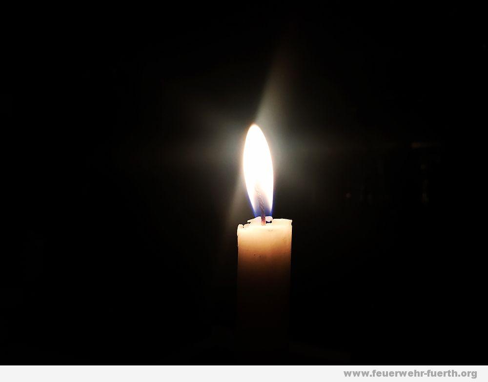 Trauer Kerze