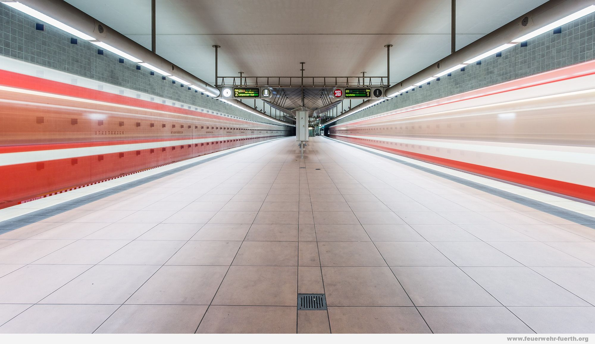 Symbolfoto U-Bahn