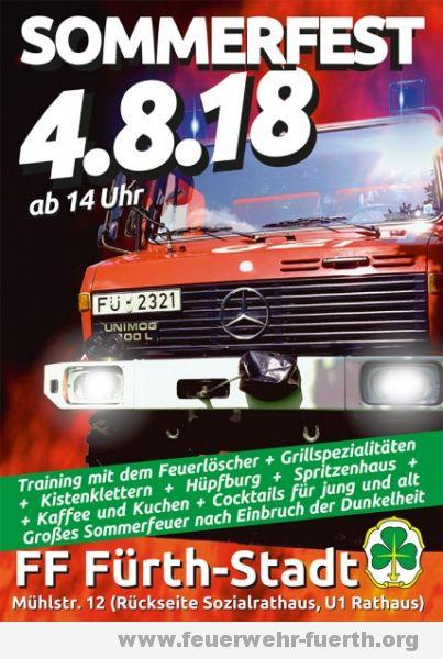 Sommerfest FF Fürth-Stadt @ Mühlstr.