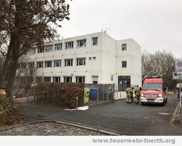 Schulgebäude in Containerbauweise